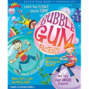 POOF-Slinky 0SA257 Scientific Explorer Bubble Gum Factory Kit