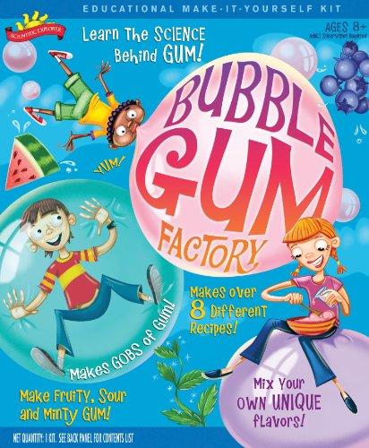Scientific Explorer Bubble Gum Factory Kit