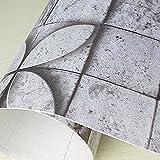 壁紙 シール はがせる おしゃれ [wpc-008] 幅50cm×長さ1m単位 タイル キッチン壁紙シール リメイクシート アクセントクロス ウォールステッカー はがせる 壁シール カッティングシート