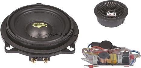 Système Audio-BMW 100 X 10 cm 2 voies pour BMW