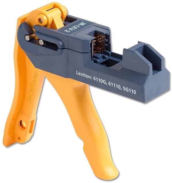 Fluke Networks JR-LEV-2 JackRapid Punch Down Tool for Leviton 61110 5G110 6110G (Tamaño: For Leviton 61110, 5G110, 6110G)
