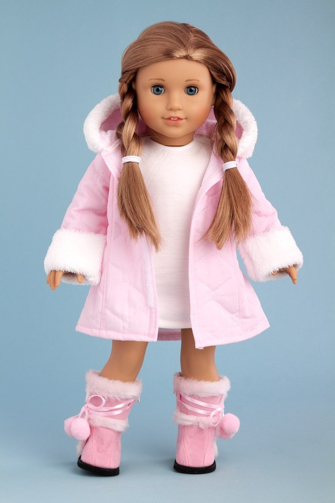 american girl doll play baby it 39 s cold outside a giveaway from dreamworld collections. Black Bedroom Furniture Sets. Home Design Ideas