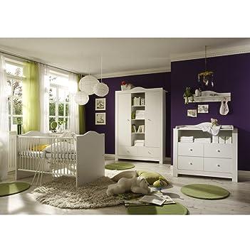 Babyzimmer Kleiner Prinz Schrank Kommode Bett Und Lattenrost