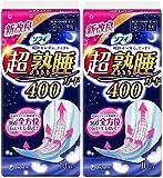 【まとめ買い】ソフィ 超熟睡ガード 400 特に多い日の夜用 羽つき 40cm 10コ入×2個パック(unicharm Sofy)