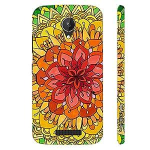 Micromax Canvas Spark Q380 Desert Rose designer mobile hard shell case by Enthopia
