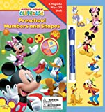 Mickey Mouse Clubhouse Preschool Numbers & Shapes Magnetic Book (1423110129) by Kelman, Marcy