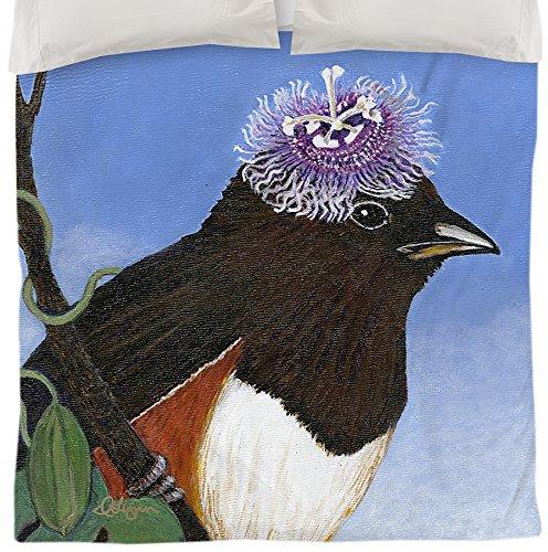 Thumbprintz Duvet Cover, King, You Silly Bird Donna front-473278