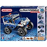 Meccano-Erector - Multimodel - 25 Model Motorized Set - Off-Road Vehicle