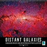 Calvendo Distant Galaxies - Endless Space and Mysterious Star Clusters: Incredible NASA Images of Distant Galaxies (Calvendo Science)