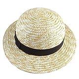 麦わら帽子≪Kids Straw Hat≫ (ブラック (Black Ribbon))