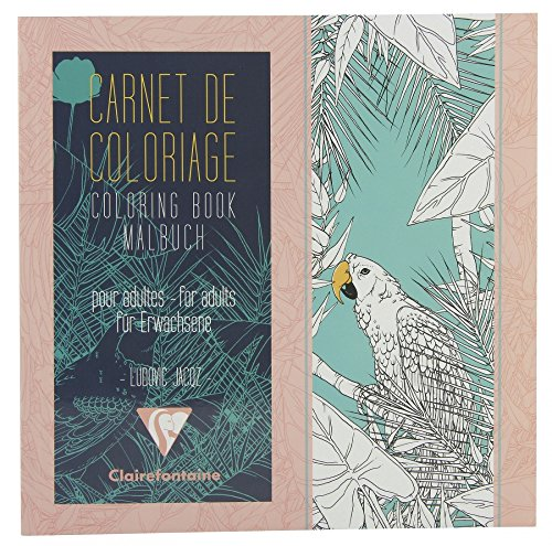 Clairefontaine Artist Coloring Book: Birds - 1