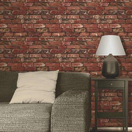 brewster-fd31285-rustic-brick-wallpaper-red