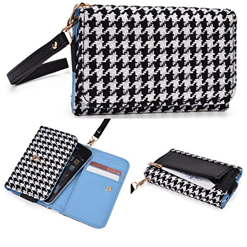 Women'S Zip Wallet With Strap Fits Samsung Galaxy S Duos S7562 front-1071807