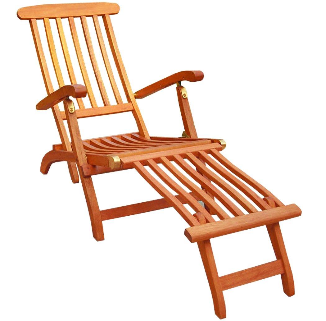 KMH®, Deckchair aus Eukalyptusholz (#101908) online kaufen