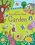 img - for First Sticker Book Garden (First Sticker Books) book / textbook / text book