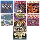 7 Different Bachata CD's BACHATAHITS 2003 - 2009
