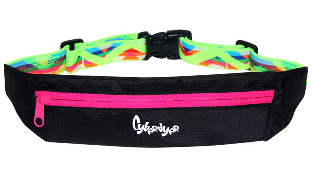 Genda 2Archer Sports Hiking Cycling Bodybuilding Running Fanny Pack Runner Belt, fits iPhone 6 Plus