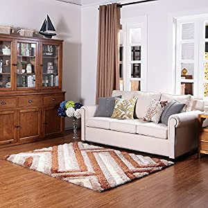Ustide simple contemporary design area rug for for Durable carpet for family room