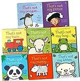 Fiona Watt Fiona Watt Thats Not My 8 Books Collection Pack Set (That's Not My Frog,That's Not My Puppy,That's Not My Train,That's Not My Prince,That's Not My Panda,That's Not My Kitten,That's Not My Penguin, That's Not My Goat)