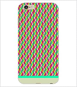 PrintDhaba Pattern D-1147 Back Case Cover for APPLE IPHONE 6 (Multi-Coloured)