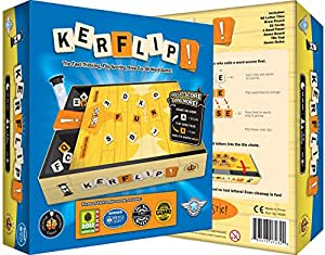 Kerflip!, the Fast Thinking, Flip Scoring, Free for All Word Game