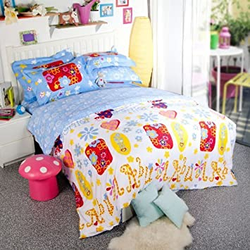 Elegant DIAIDI Designer Childhood Stories Floral Cover Set King Skirt Kids Bedding Sets Modern