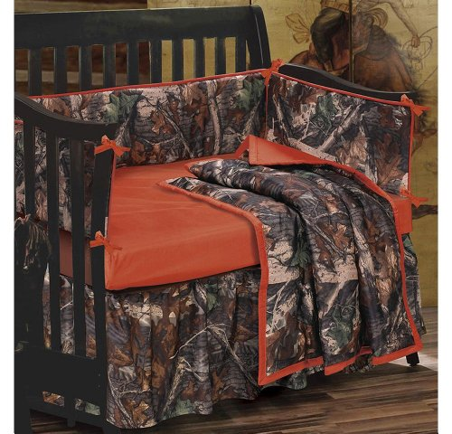 HiEnd Accents Oak Camo Crib Set image