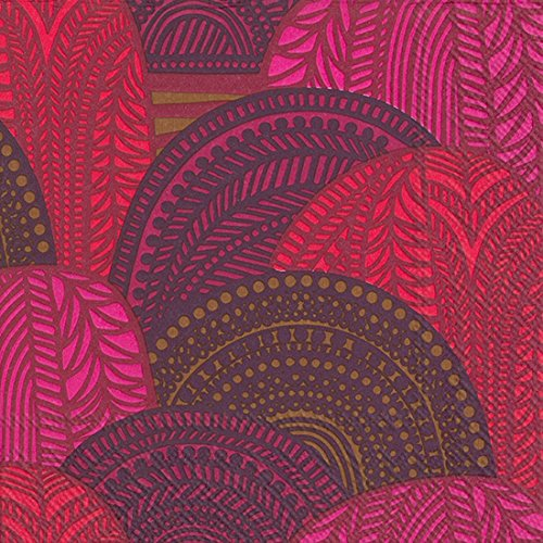 marimekko-de-serviettes-de-table-vuoril-aakso-red-33-x-33-cm