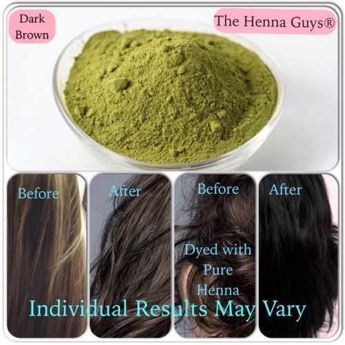 Dark Brown Henna for Hair Dye 100 Grams - The