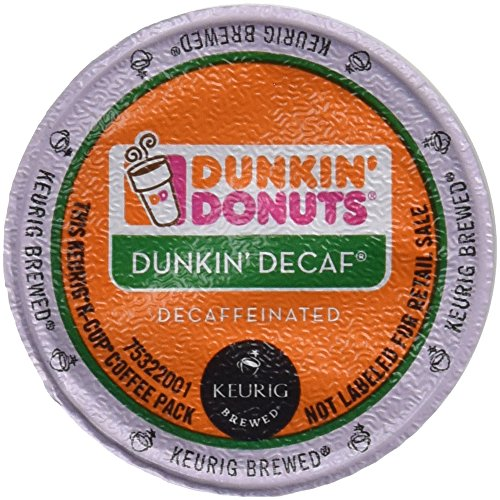Dunkin' Donuts Decaffeinated Coffee KCups, 60 Count (Keurig Dunkin Donuts Decaf compare prices)