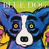Blue Dog 2016 Wall Calendar