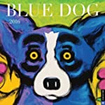 Blue Dog 2016 Wall Calendar