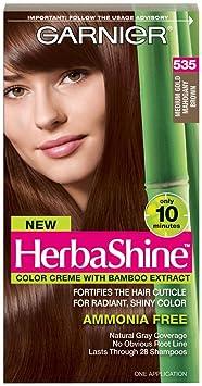 Medium Golden Brown Hair Color Garnier