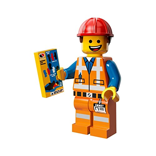 The Lego Movie Emmet Construction Worker Minifigure Series 71004