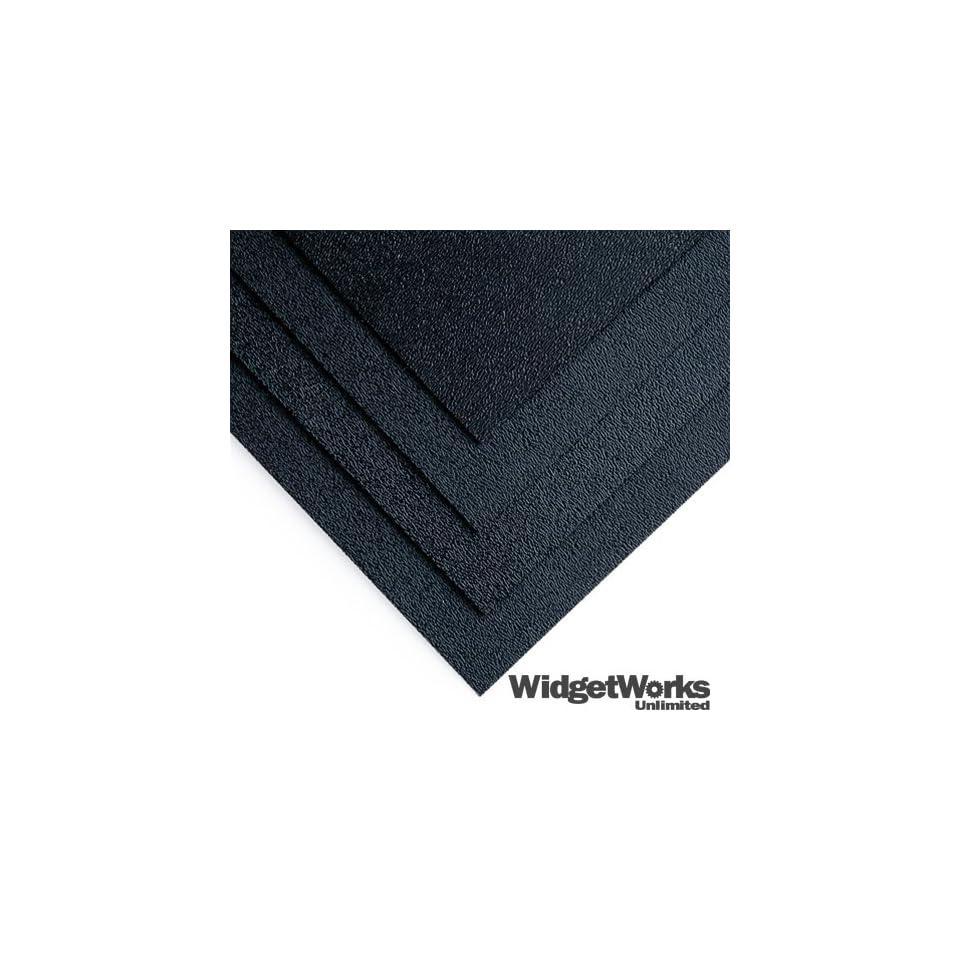 BLACK ABS Thermoform Plastic Sheets 1/16 x 12 x 12 Sheets   12 Piece Bundle