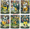 Green Bay Packers 2013 Topps Complete Regular Issue 13 Card Team Set with Aaron Rodgers, Matthews, Lacy, Raji and More