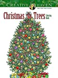 img - for Creative Haven Christmas Trees Coloring Book (Creative Haven Coloring Books) book / textbook / text book