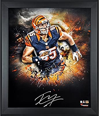 "Tyler Eifert Cincinnati Bengals Framed Autographed 20"" x 24"" In Focus Photograph - Fanatics Authentic Certified"