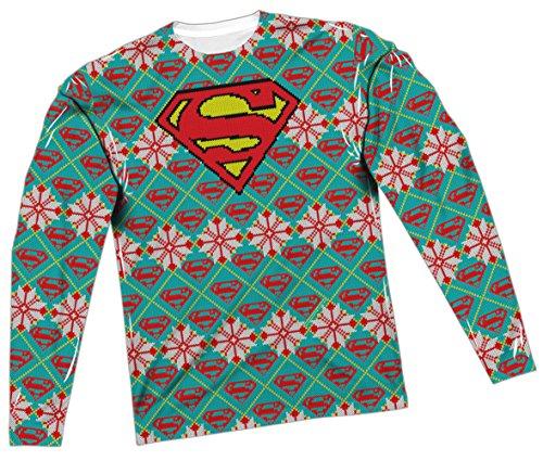 Ugly Christmas Superman T-Shirt