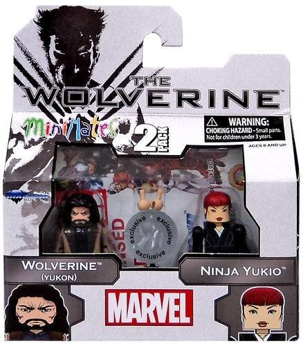 """Minimates """"The Wolverine"""" - Wolverine (Yukon) & Ninja Yukio - 1"""
