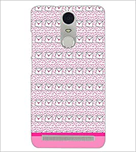 PrintDhaba Letter pattern D-1819 Back Case Cover for LENOVO K5 NOTE (Multi-Coloured)