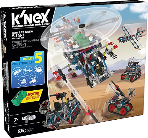 KNEX-Combat-Crew-5-in-1-Building-Set