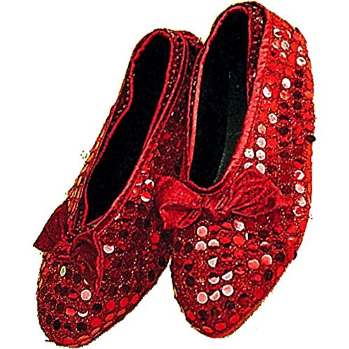 Adult Ruby Red Slippers Shoe Covers