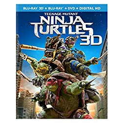 Teenage Mutant Ninja Turtles [Blu-ray 3D + Blu-ray + DVD + Digital HD]