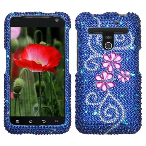 Asmyna Lgvs910Hpcdm160Np Luxurious Dazzling Diamante Case For Lg Revolution Vs910 - 1 Pack - Retail Packaging - Juicy Flower