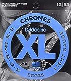 D'Addario ECG25×3SET フラットワウンド ギター弦