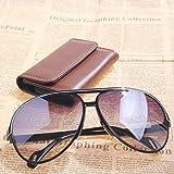 Vktech® Sport Sunglasses Gray Resin Lens Sunglass Sunglasses UV400 White Edge