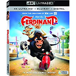 Ferdinand [4K Ultra HD + Blu-ray]