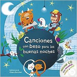 Amazon.com: Canciones con beso para las buenas noches con CD (Spanish