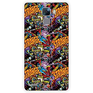 Marvel Civil War PBMARCOMHUAH7007 Dr. Strange Back Cover for Huawei Honor 7 (Multicolor)